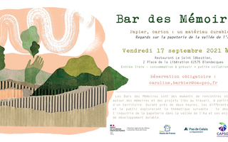 Bar des Mémoires - Regards sur la papeterie et la cartonnerie de la vallée de l'Aa
