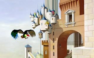 Les mioches au cinoche - Le Roi & l'oiseau de Paul Grimault, sur des textes de Jacques Prévert