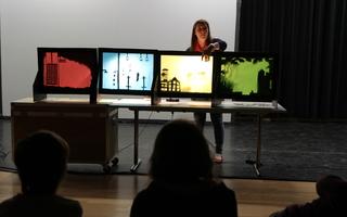 Jeux d'ombres : Atelier jeune public