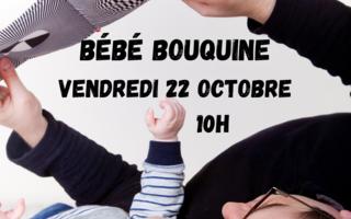Bébé Bouquine octobre - lecture pour tout-petits
