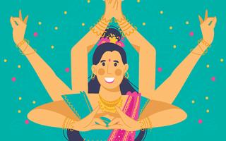 Spectacle de danse Bollywood par Mastani