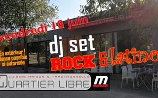 """DJ Set """"rock & latino"""""""