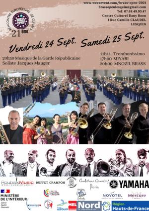 BrassOpen 24-25 septembre
